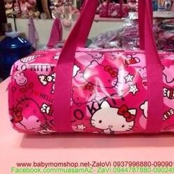 Túi xách hello kitty hồng hình dạng trống đẹp xì teen TX27