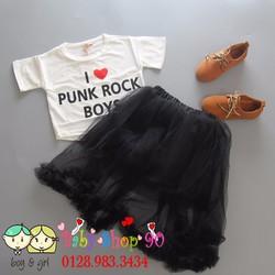 Bg071 Set chân váy hot 2k17 phối áo pull