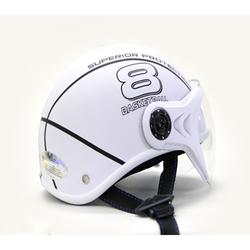 HCM Nón bảo hiểm có kính Sport thời trang mới