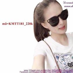 Kính mát Versace Phương Trinh sang trọng đẳng cấp KMTT181