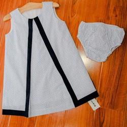 Đầm xinh cho bé yêu chất liệu cotton thoáng mát