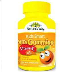 kẹo dẻo bổ sung Vitamin C và Kẽm cho bé