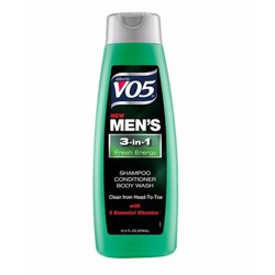 Dầu gội VO5 3 in 1 for men 12.5fl Oz