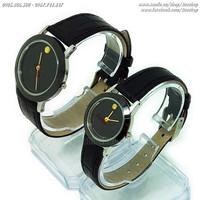 Đồng hồ đôi Mov@do kính sapphire - Giá một đôi - Mã số: DHD1605