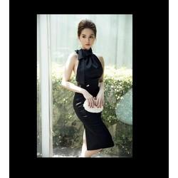 Đầm Yếm Ngọc Trinh Hở Lưng - K175