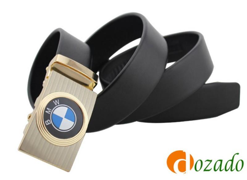 Thắt lưng da bò logo BMW Đen và Nâu 7