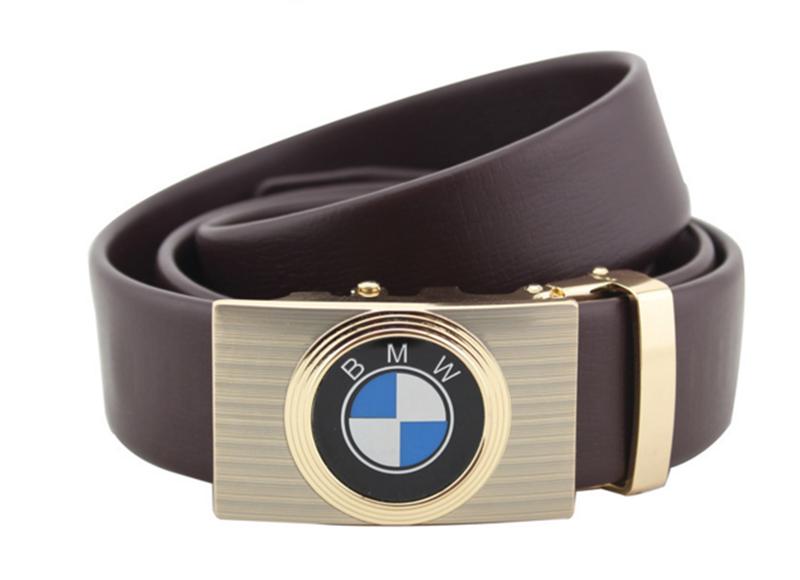 Thắt lưng da bò logo BMW Đen và Nâu 4
