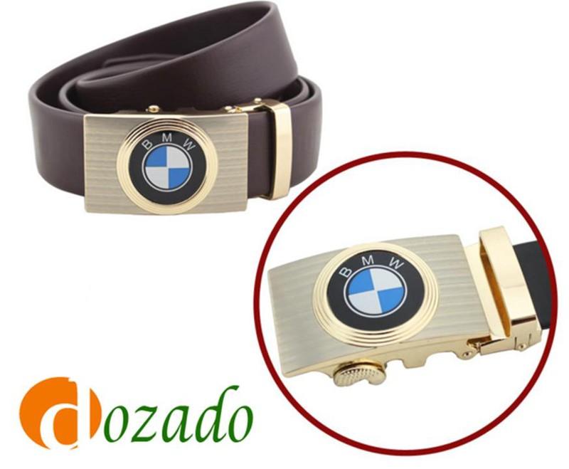 Thắt lưng da bò logo BMW Đen và Nâu 8