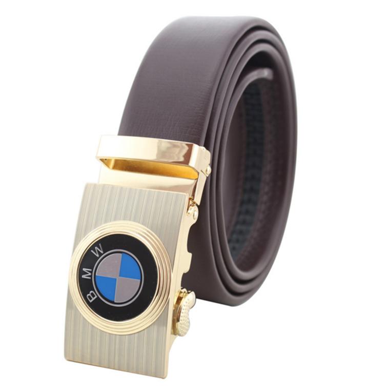 Thắt lưng da bò logo BMW Đen và Nâu 3
