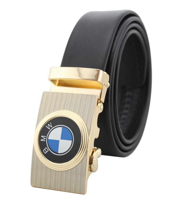 Thắt lưng da bò logo BMW Đen và Nâu 6