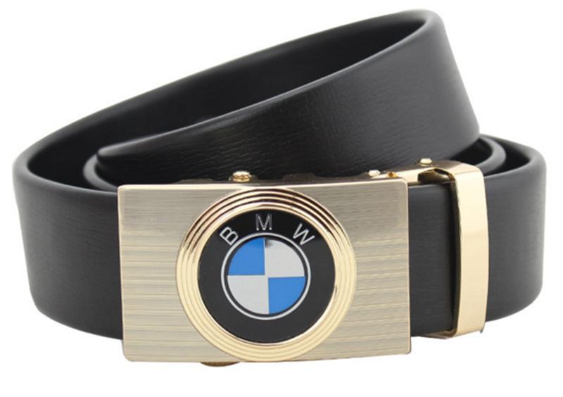 Thắt lưng da bò logo BMW Đen và Nâu 5