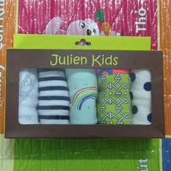 Set 5 Quần Chíp bé gái Hiệu Julien Kids Hàng Xuất Pháp