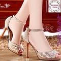 Giày cao gót nữ đính hạt