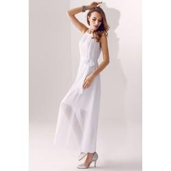 Đầm dạ hội suông cổ yếm SD590