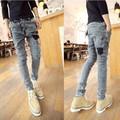 Quần Jeans Hàn Quốc dáng ôm cực hot hè 2016