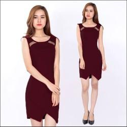 Đầm ôm đẹp quyến rũ - Đen