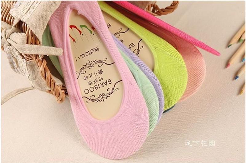 Combo 5 đôi vớ mang giày búp bê giày lười 1