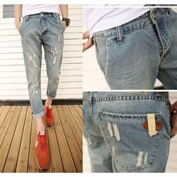 Quần jeans ống côn skinny nam ĐĂNG NHẬT - Mã ĐN1025