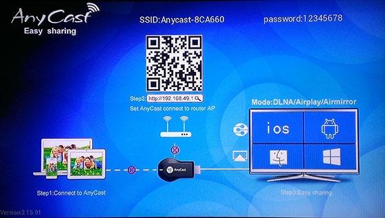 HDMI không dây ANYCAST cho điện thoại 1