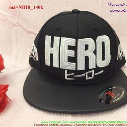 Nón snapback hiphop Hero phong cách Hàn Quốc NHI8