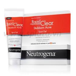 Gel trị mụn siêu tốc Neutrogena Rapid Clear Stubborn Acne Spot Gel 30g