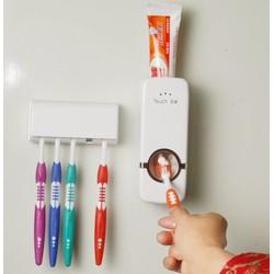 Bộ Dụng cụ nhả kem đánh răng tự động và Giá để bàn chải Touch Me