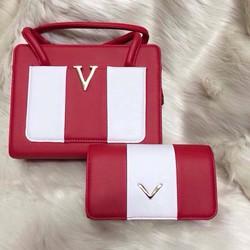 Set bộ túi V ghép sọc 5 màu - hàng nhập QUẢNG CHÂU vô cùng hotttt