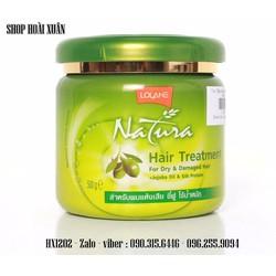 Kem ủ lạnh tóc Lolane Natura Olive Thái Lan- HX1202
