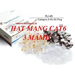 Hộp mạng AMP Rj45 Cat6e Loại 4 mảnh sẵn hàng giá rẻ cho số lượng