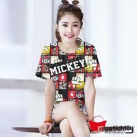 MTL: -  Áo thun nữ Mickey