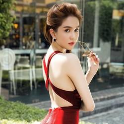 Đầm Ngọc Trinh Lưng Chéo Dây Quyến Rũ