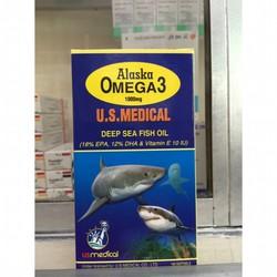 Dầu cá Omega3 Alaska