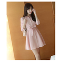 Đầm Xòe Đai Eo