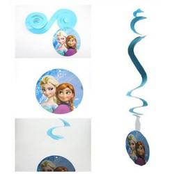 Dây lò xo trang trí sinh nhật công chúa Elsa