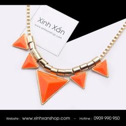 Dây chuyền tam giác đính đá NEa65