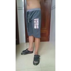Quần thun nam short thể thao - mặc nhà cực hot QTN5