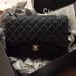 Túi xách Chanel maxi cổ điển size 35