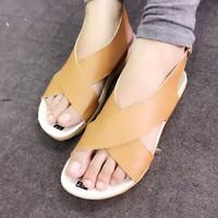 Giày sandals quai chéo SDQN18