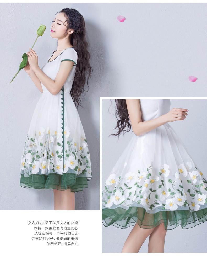 Đầm dạ hội nàng tiên Hoa Xuyến Chi cao cấp 4