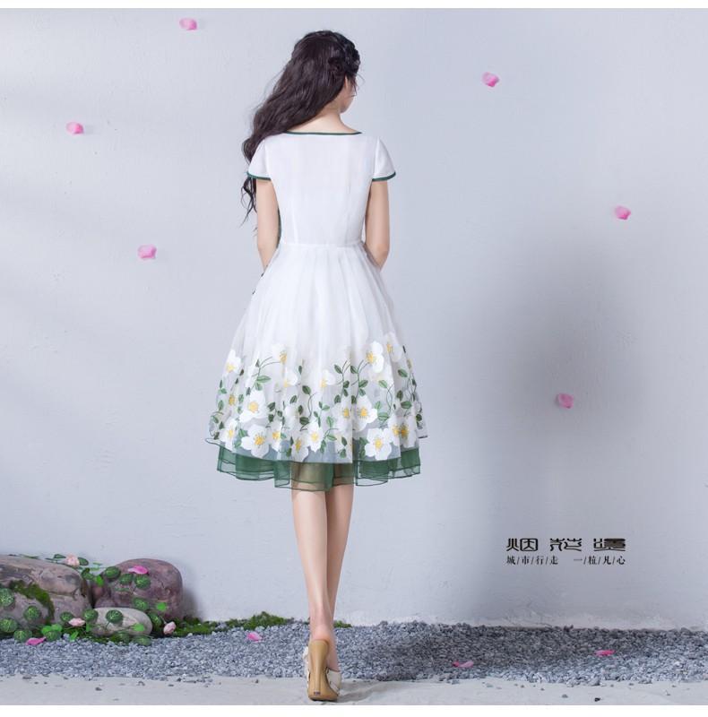 Đầm dạ hội nàng tiên Hoa Xuyến Chi cao cấp 7