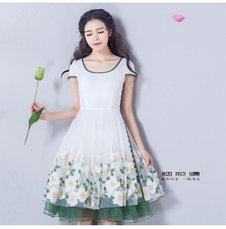 Đầm dạ hội nàng tiên Hoa Xuyến Chi cao cấp 3