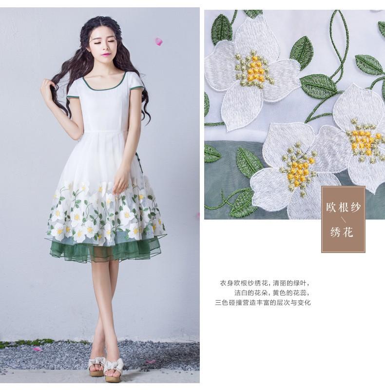 Đầm dạ hội nàng tiên Hoa Xuyến Chi cao cấp 8