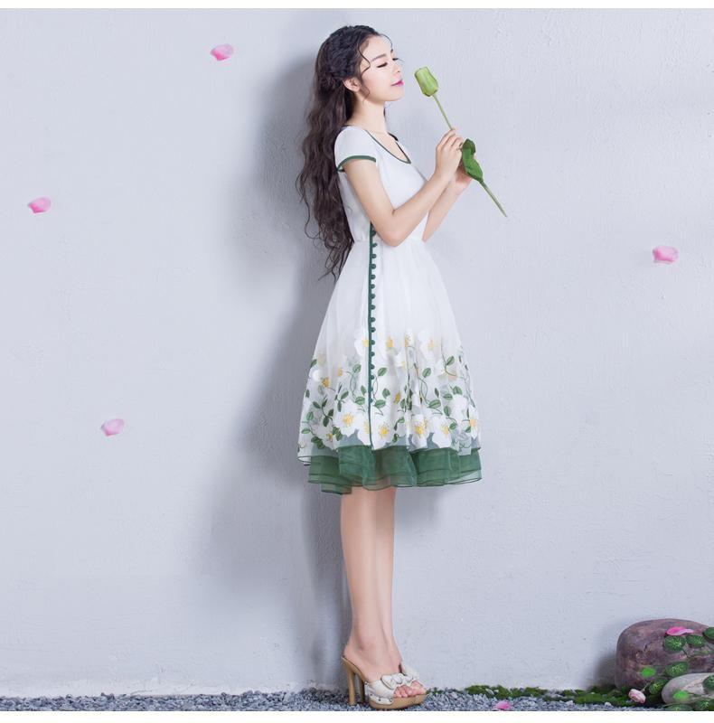 Đầm dạ hội nàng tiên Hoa Xuyến Chi cao cấp 6