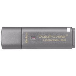 USB Kingston DataTraveler Locker+ G3 64GB