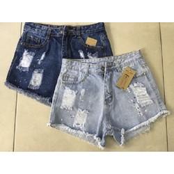 Quần short jeans Thái