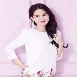 Đầm suông dài tay họa tiết hoa hồng xinh đẹp thời trang DSV161
