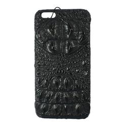 Ốp lưng da cá sấu cho Iphone 6s màu đen
