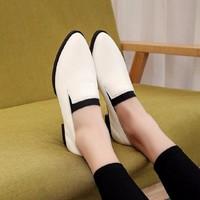 Giày lười nữ mũi nhọn - G026