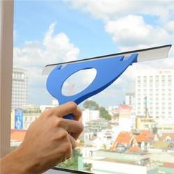 Dụng cụ lau kiếng siêu sạch tiện lợi có 2 gạt lớn nhỏ Tashuan