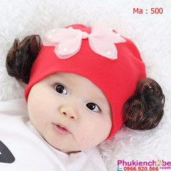 Mũ vải cho bé sơ sinh